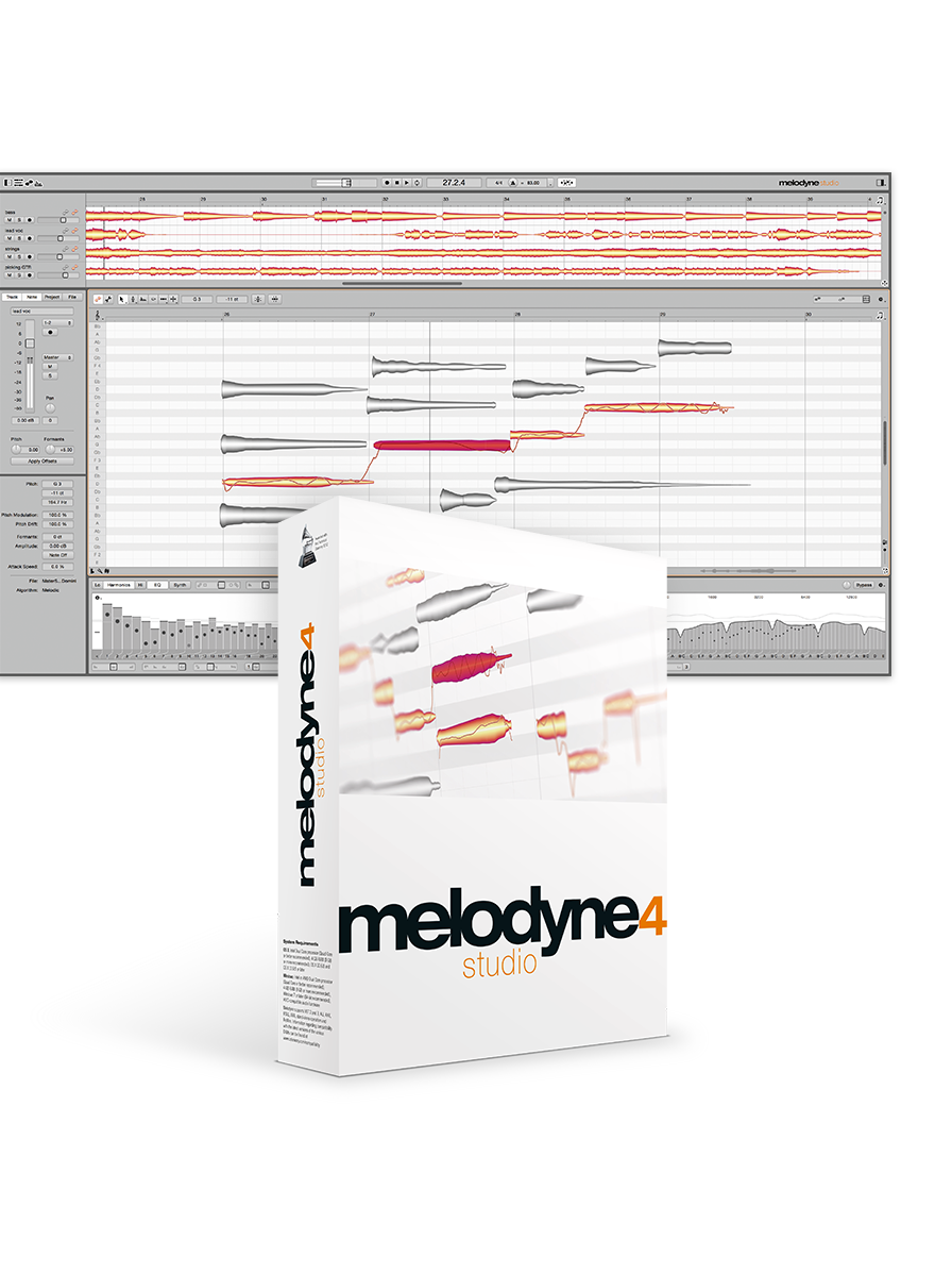 Melodyne 4 Studio - The Complete Melodyne