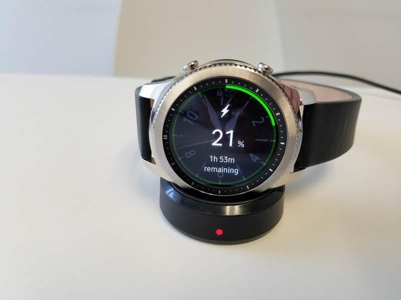 Samsung Gear S3 Charging