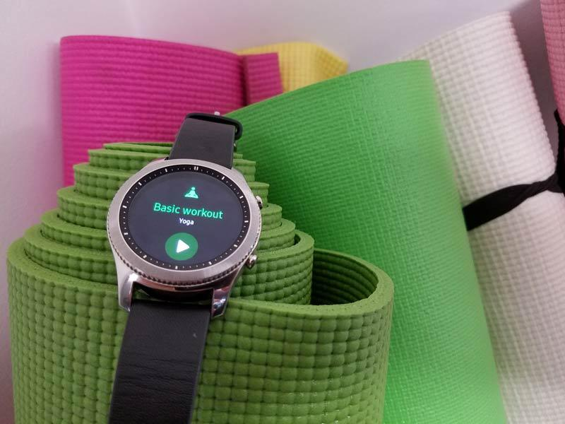 Samsung Gear S Health