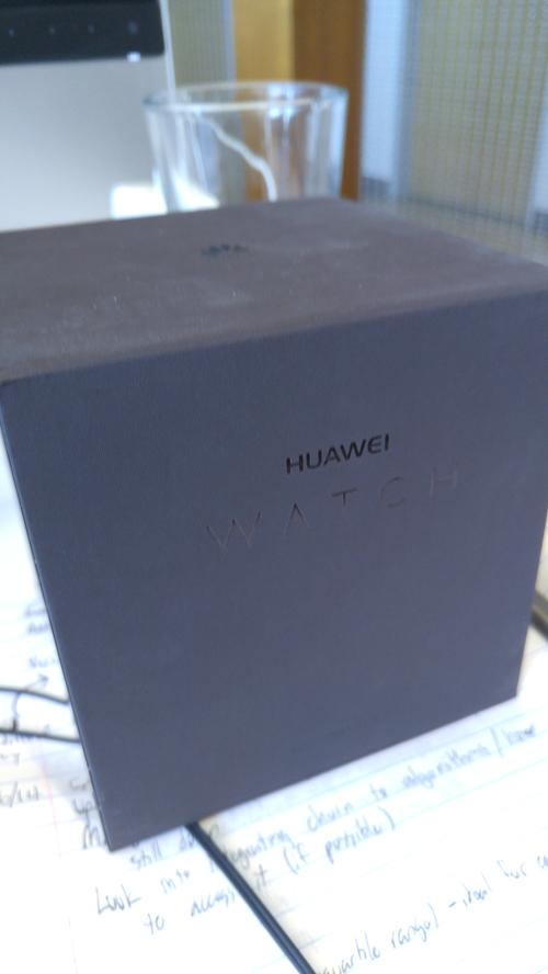 Huawei Watch's box