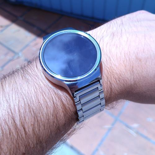 Huawei Watch on wrist