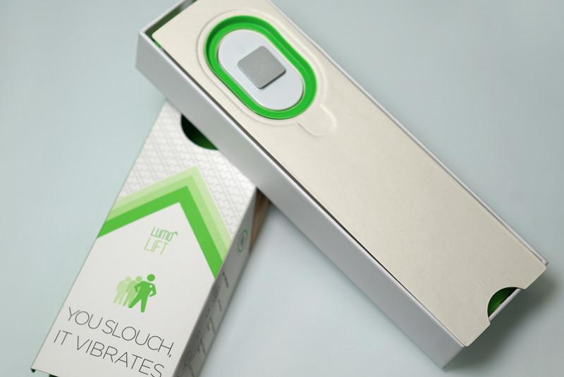 Lumo Lift's packaging is as sleek as the device