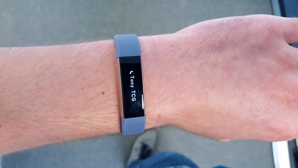 Fitbit notifications