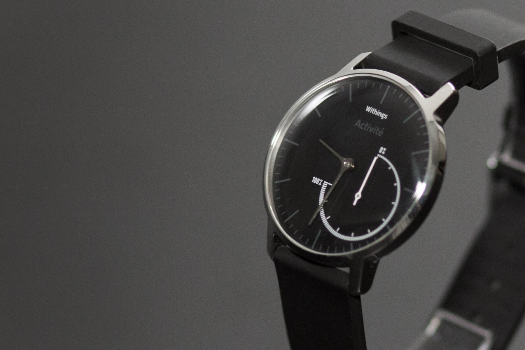 Withings Activite Steel closeup