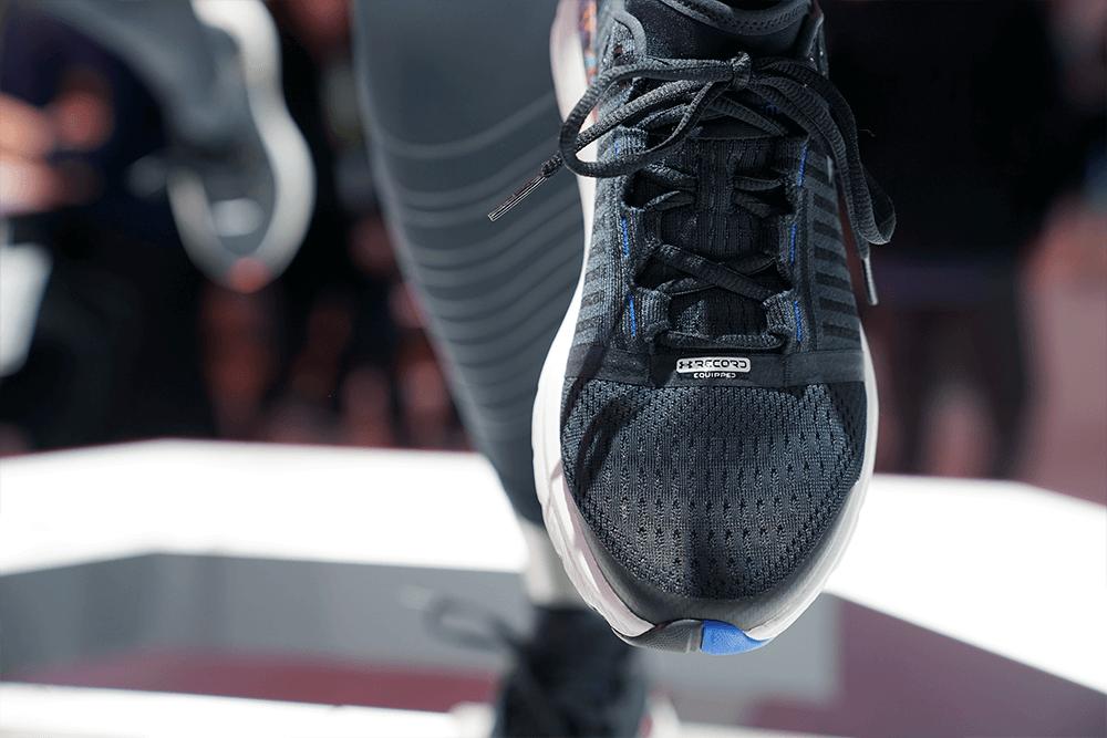Under Armour smart shoe