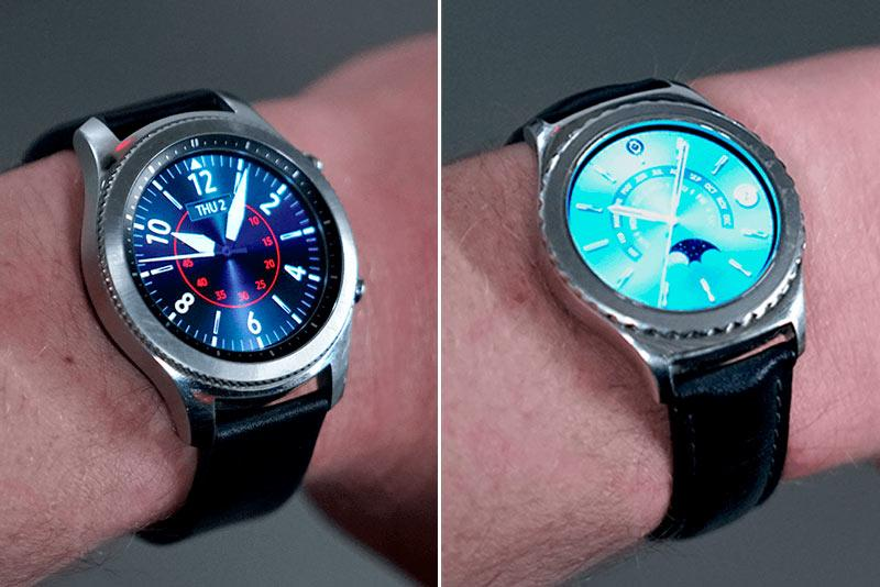 Samsung Gear S2 and S3