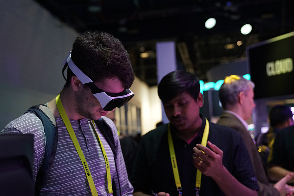 AR smart glasses at CES