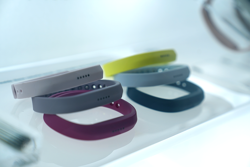 Fitbit Flex 2 models in case