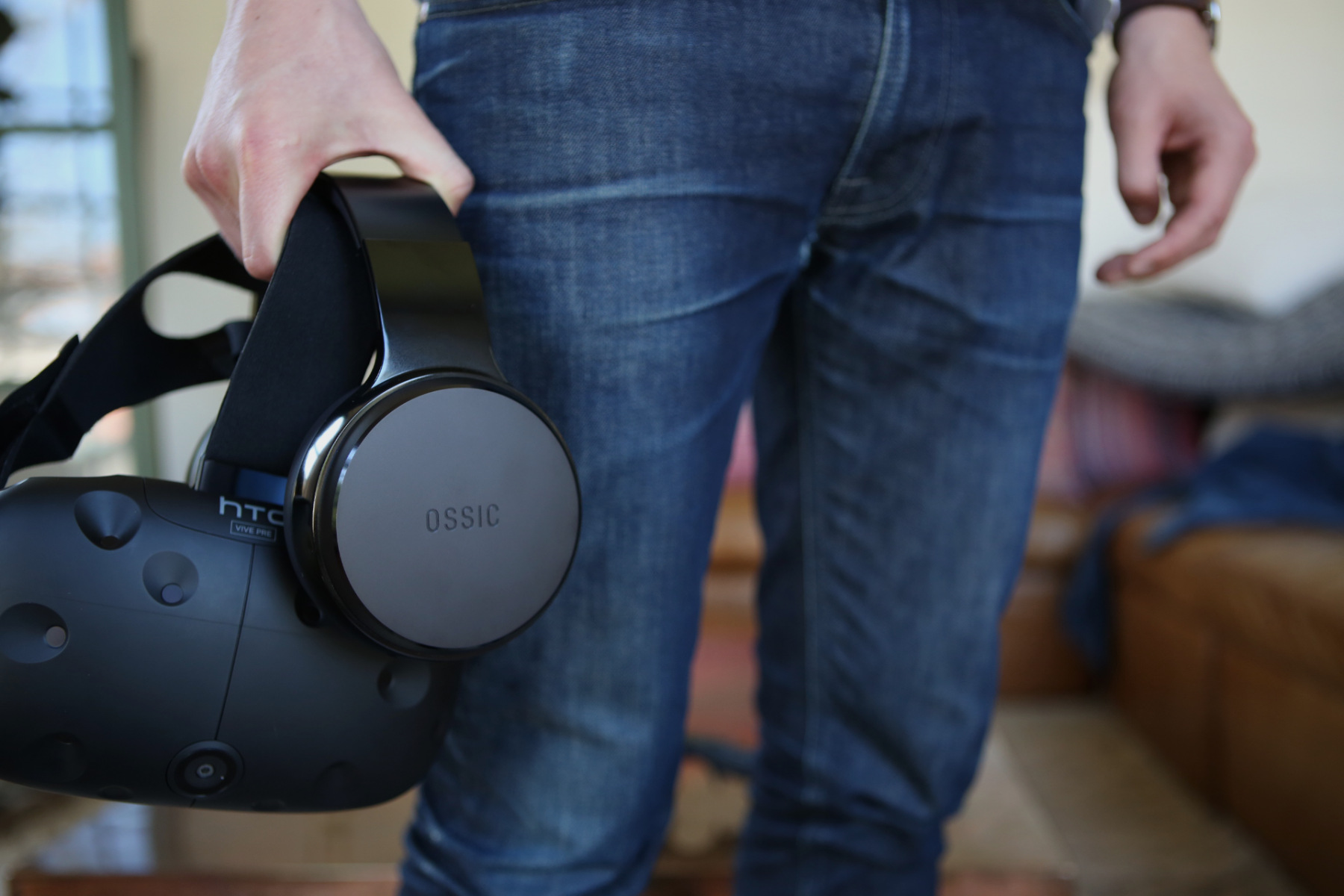 OSSIC headphones and HTC Vive