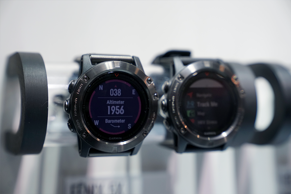 Garmin Fenix 5 watches