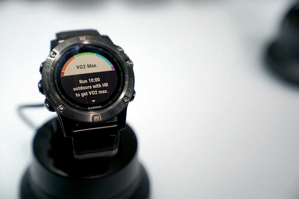 Garmin Fenix 5 at CES