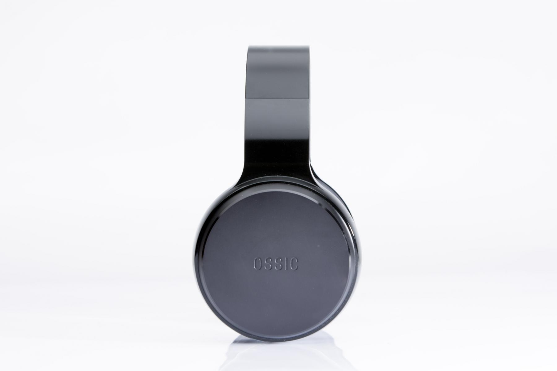 Ossic headphones on white background