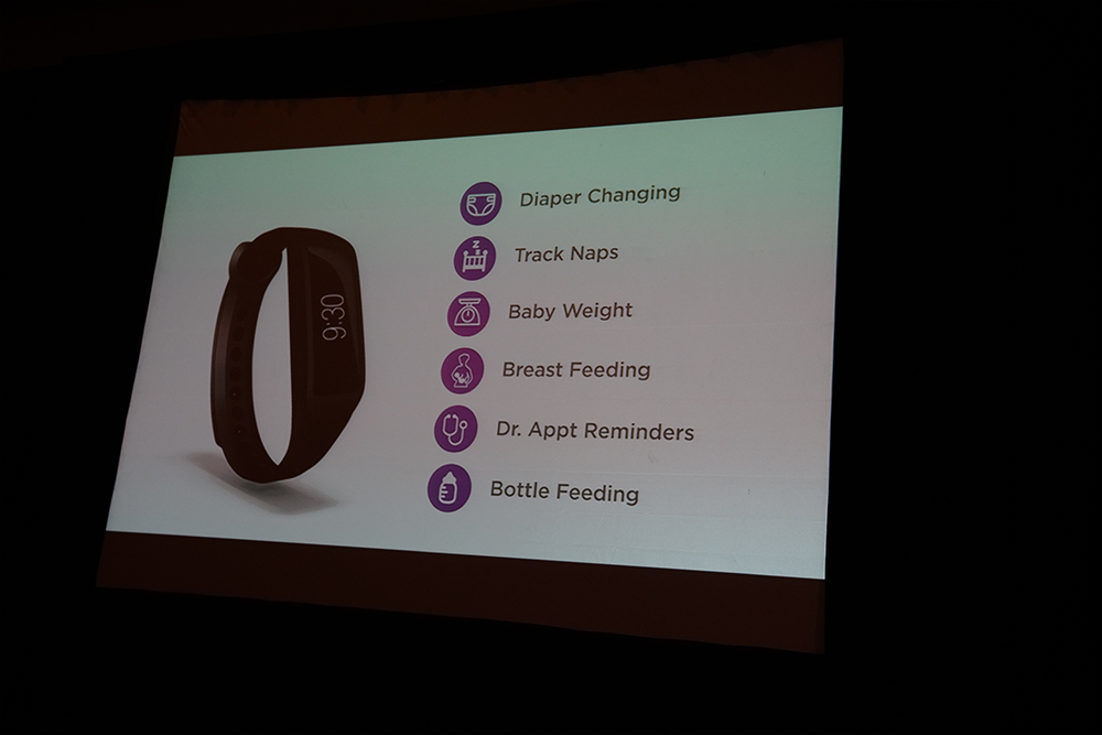 Fitness tracker for parents
