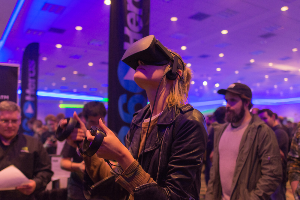 Augmented reality starts with VR
