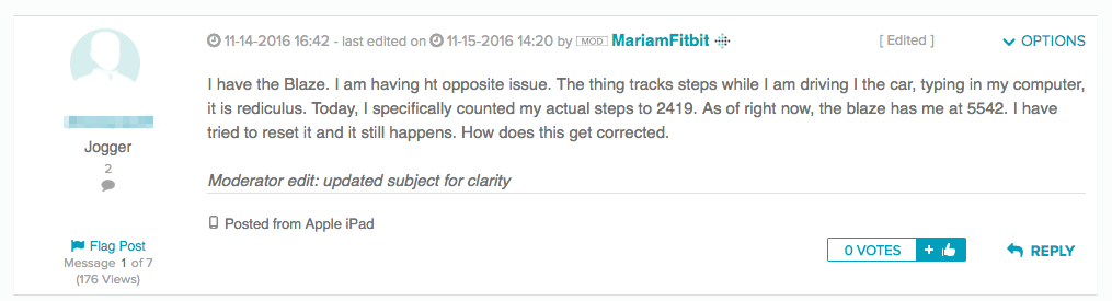 fitbit troubleshooting tracking