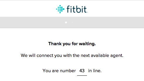 fitbit live chat