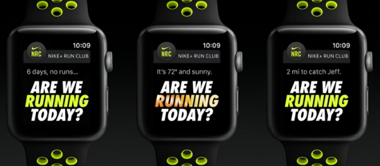 Apple Watch S2 Nike+