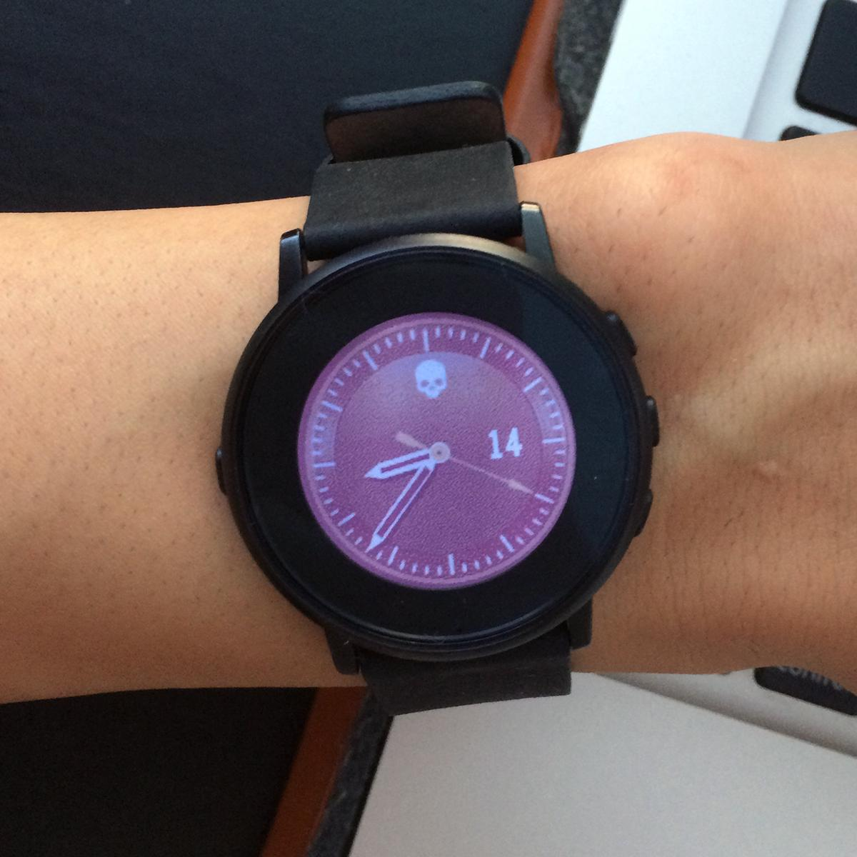 Creepy Pebble watch faces
