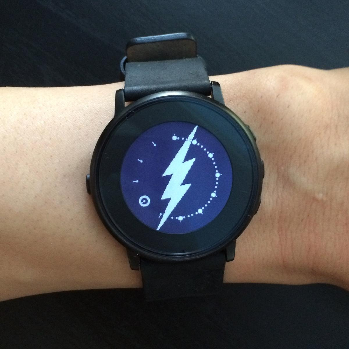 Pebble watch faces: One Day - One Hero superhero watch face