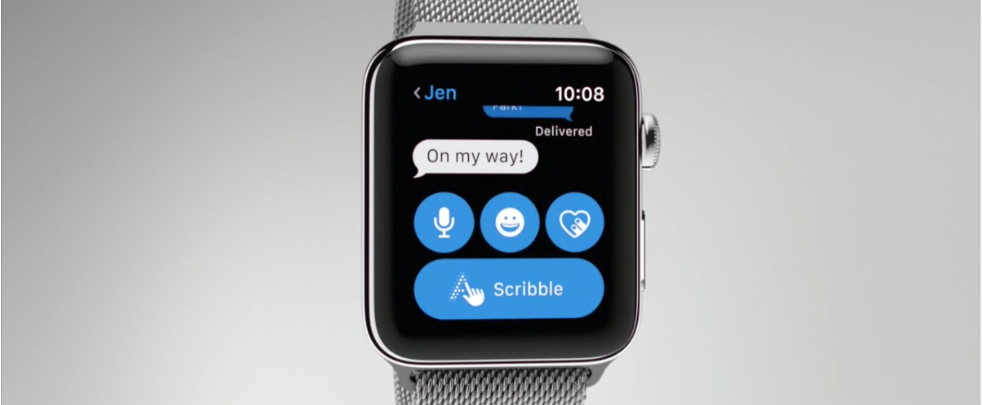 Add reactions to messages in Apple Watch S2