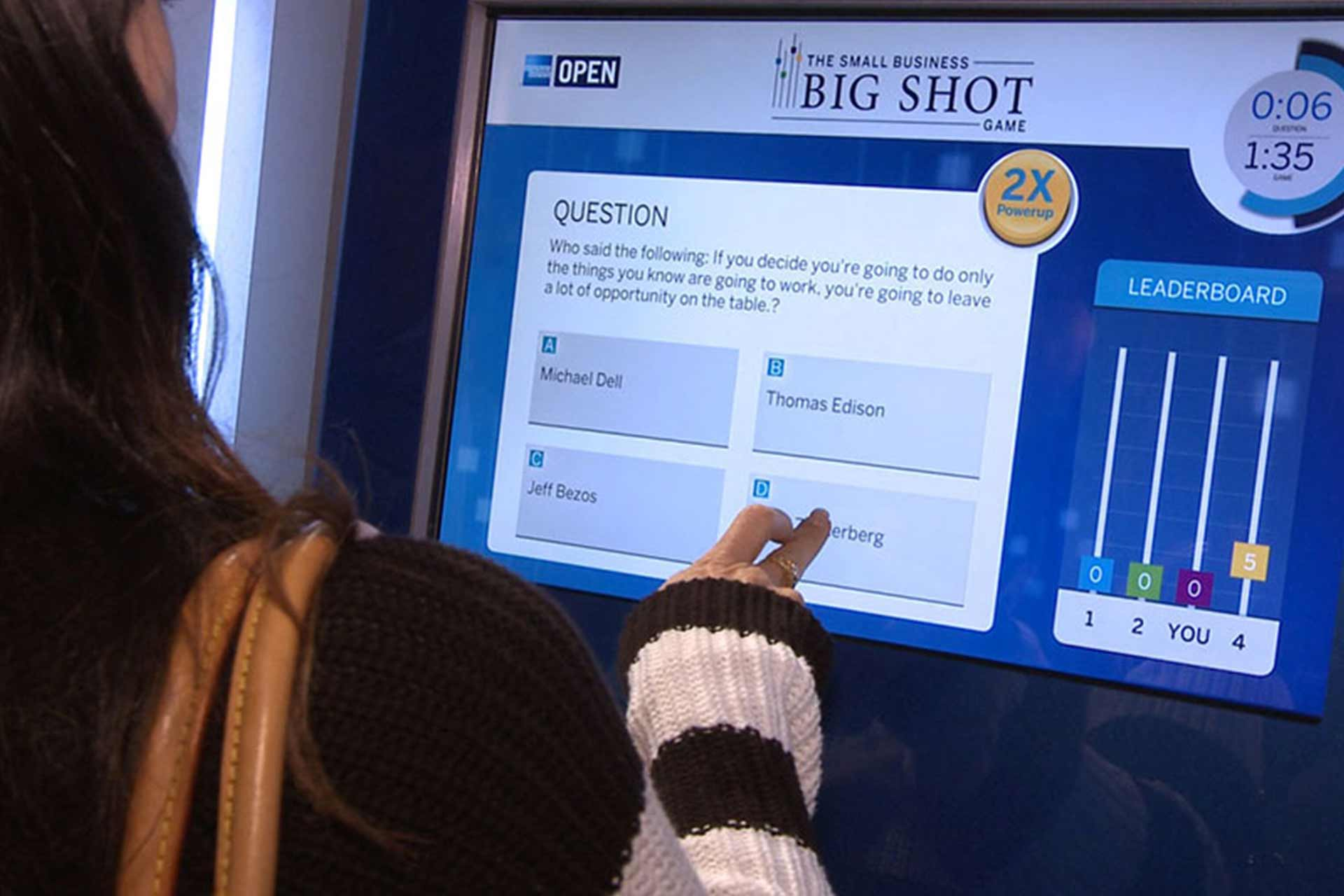 interactive-amex ces 03