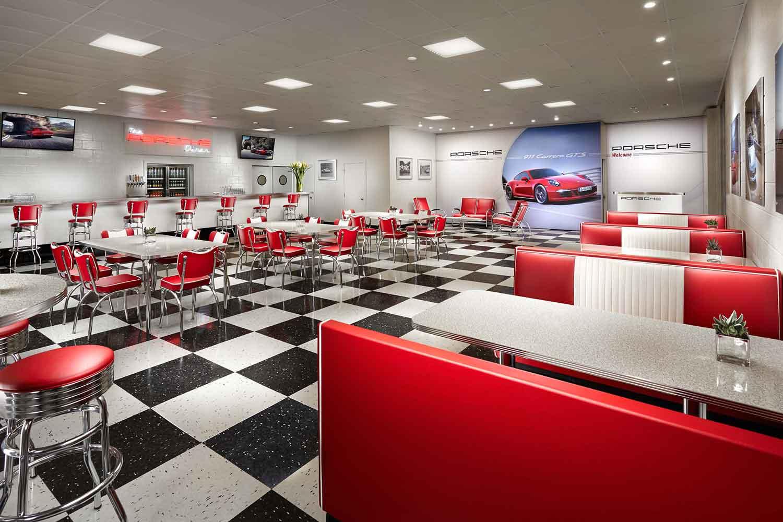 Porsche Diner Hero