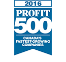 ASTOUND Website AwardsContainer Profit500 2016
