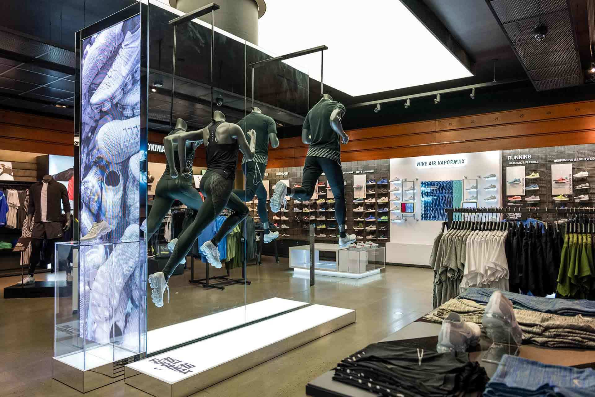 Nike Vapormax Retail Interior Environment Sport Activation Custom Product Display