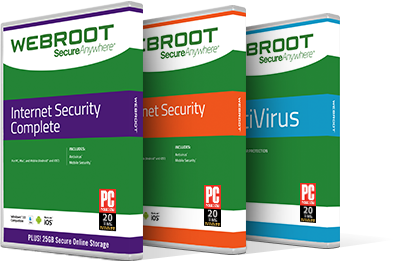 $20 Off – Webroot Internet Security Complete