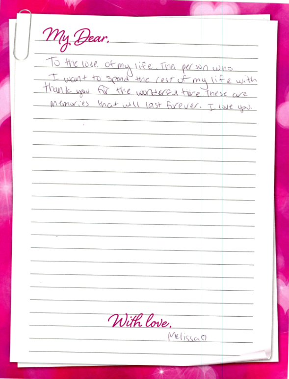Love Letters | Cove Haven Resorts