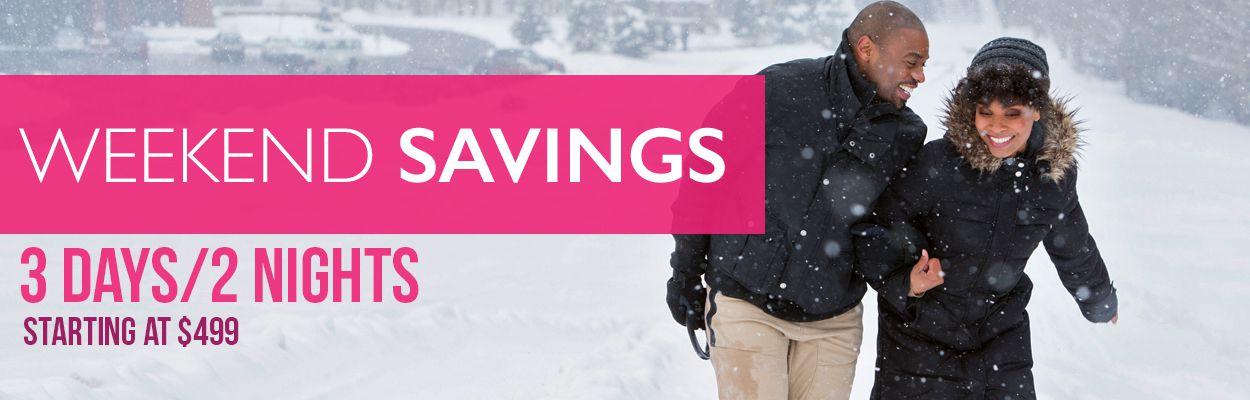 Weekend Savings