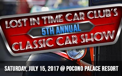 Lost in Time Car Club's 5th Annual Classic Car Show