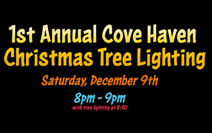 1st Annual Cove Haven Christmas Tree Lighting
