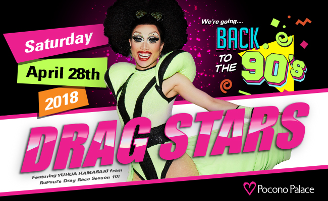 RuPaul's Drag Stars – Back to the 90's