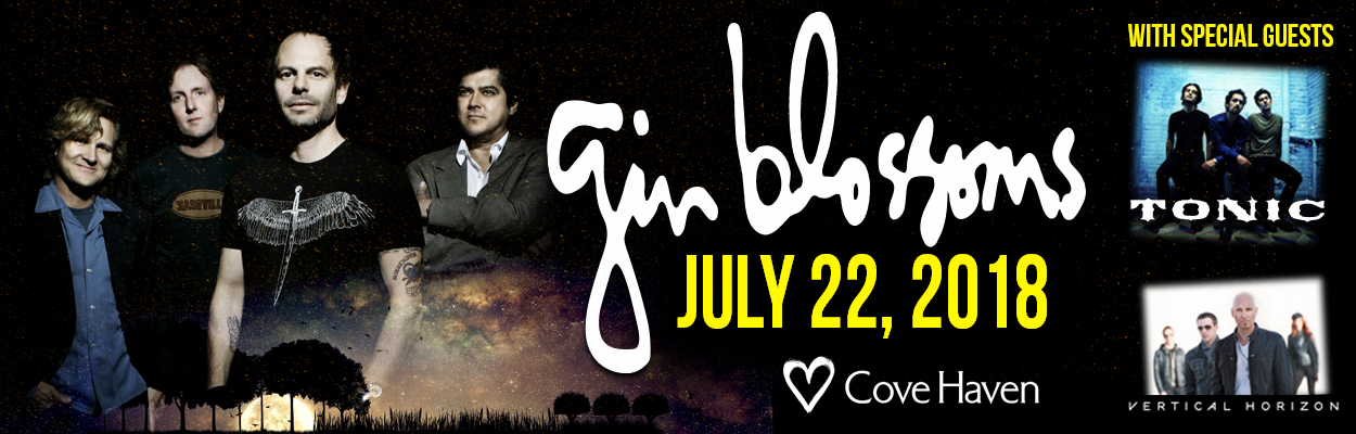 Gin Blossoms with Special Guests Tonic & Vertical Horizon