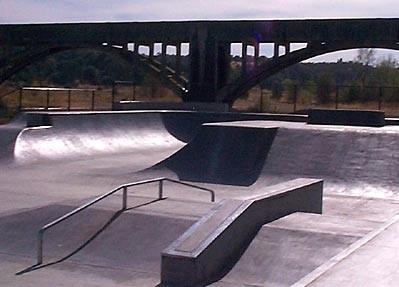 south volante skatepark, anderson, california