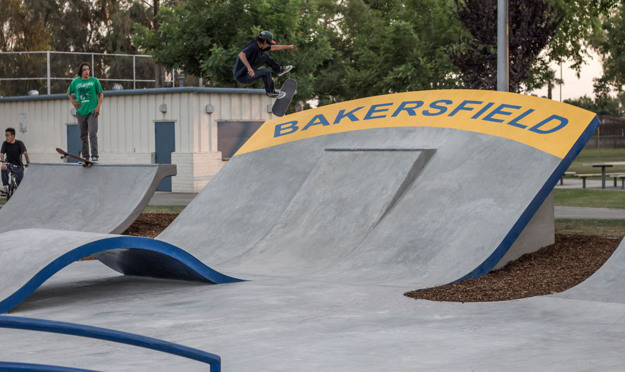 planz park, bakersfield, california