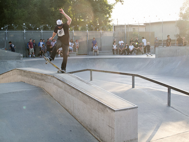 baldwin park skatepark, baldwin park, california