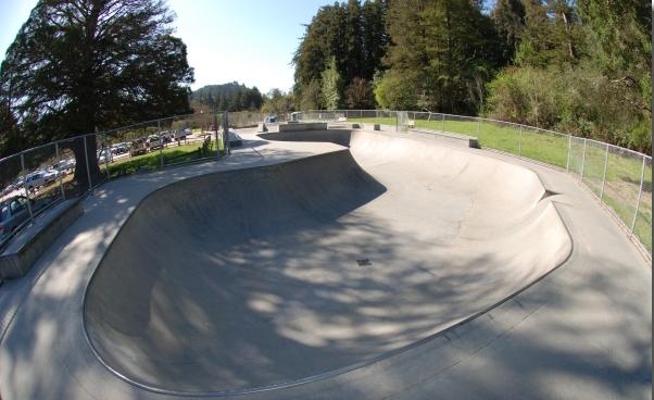 highland skatepark, ben lomond, california