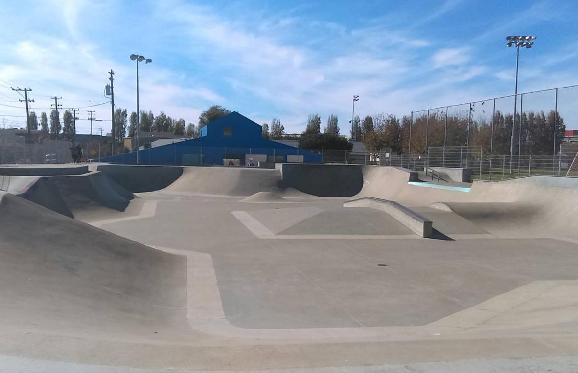 orkin/hsang memorial skatepark, berkeley, california