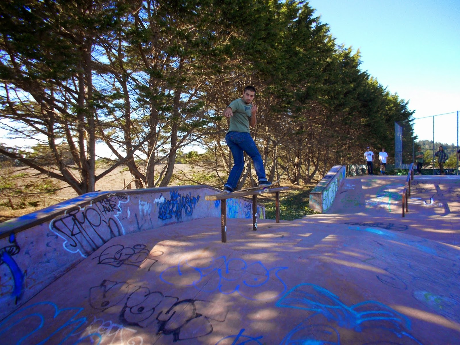 mesa skatepark, bolinas, california