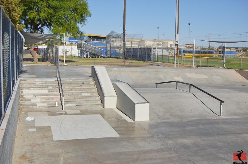 blake davis skatepark, brawley, california