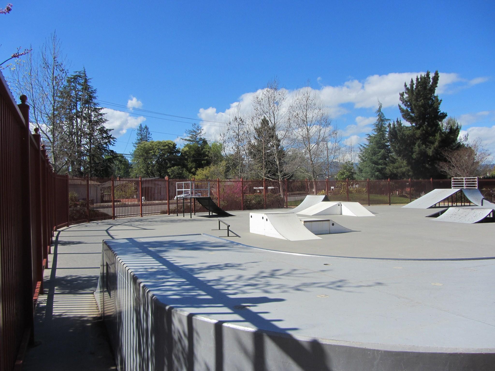 campbell skatepark, campbell, california