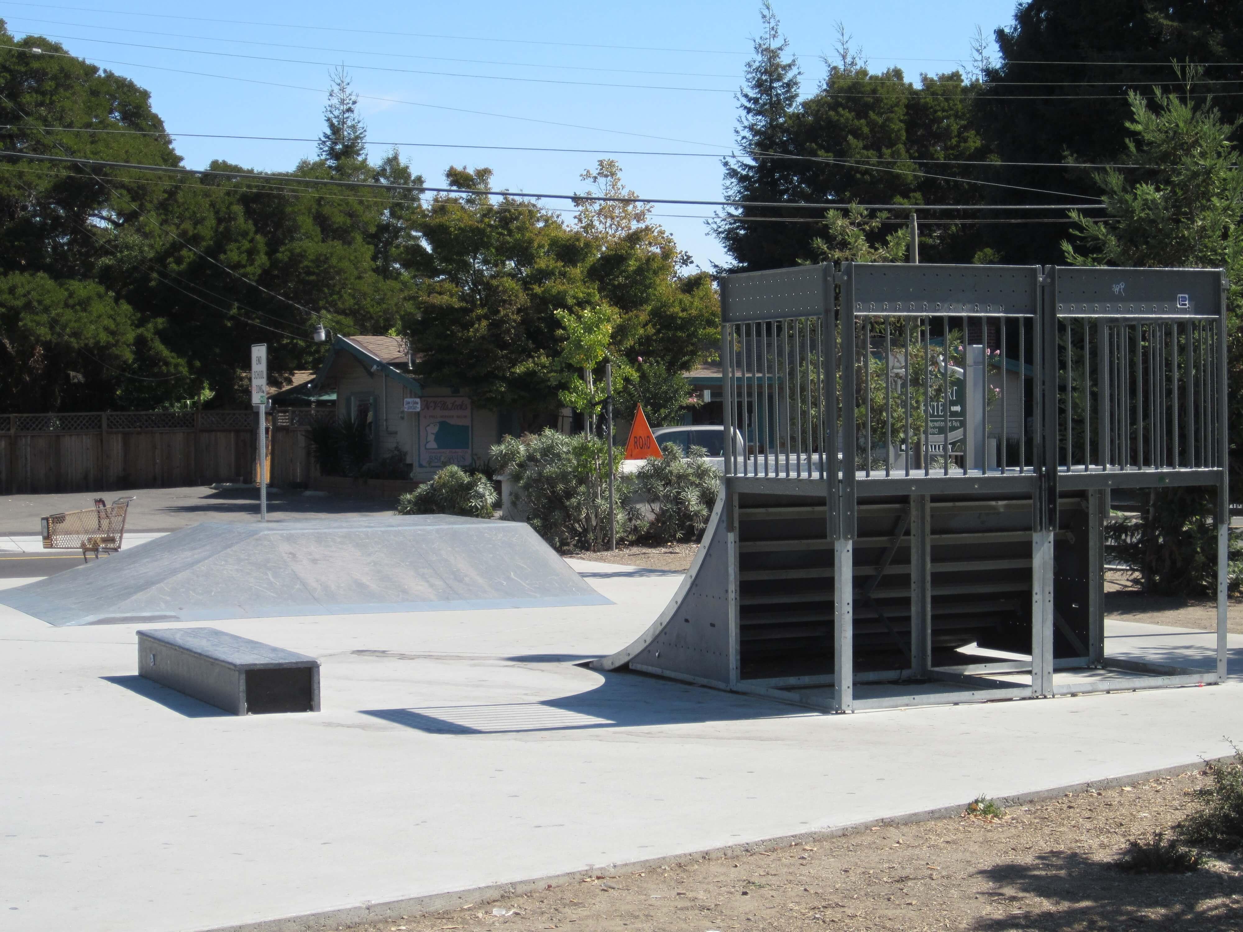 adobe park skatepark, castro valley, california