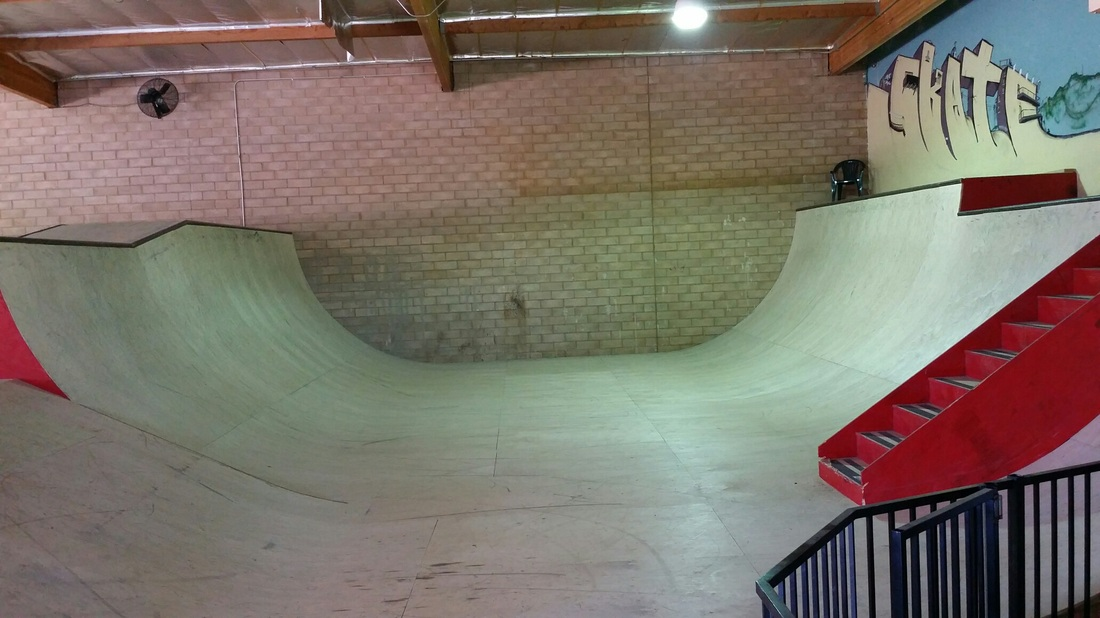 the skate house, chatsworth, california