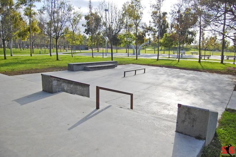heritage park skate plaza, chula vista, california