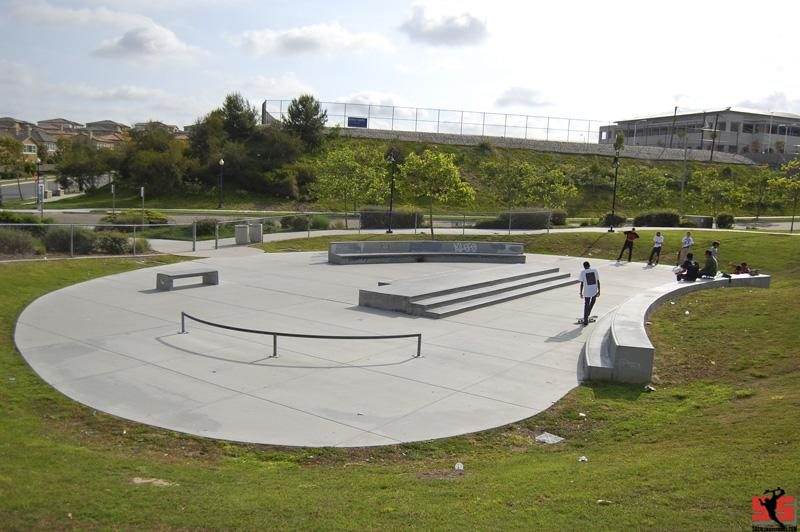 winding walk skate plaza, chula vista, california
