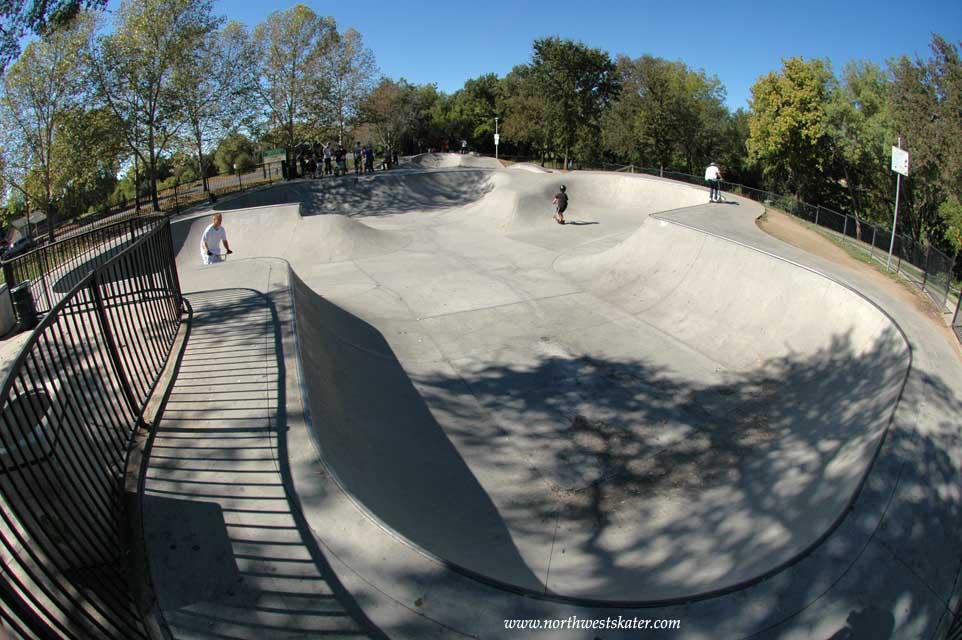 rusch skatepark, citrus heights, california