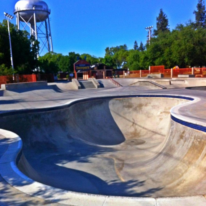 letterman/rotary skatepark, clovis, california