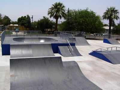dateland park, coachella, california